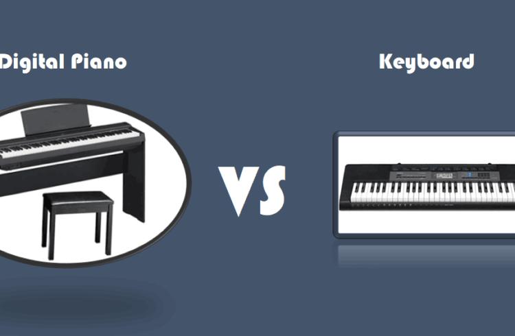 digital piano vs keyboard