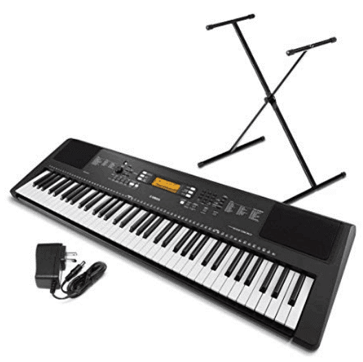 Yamaha touch sensitive keyboard