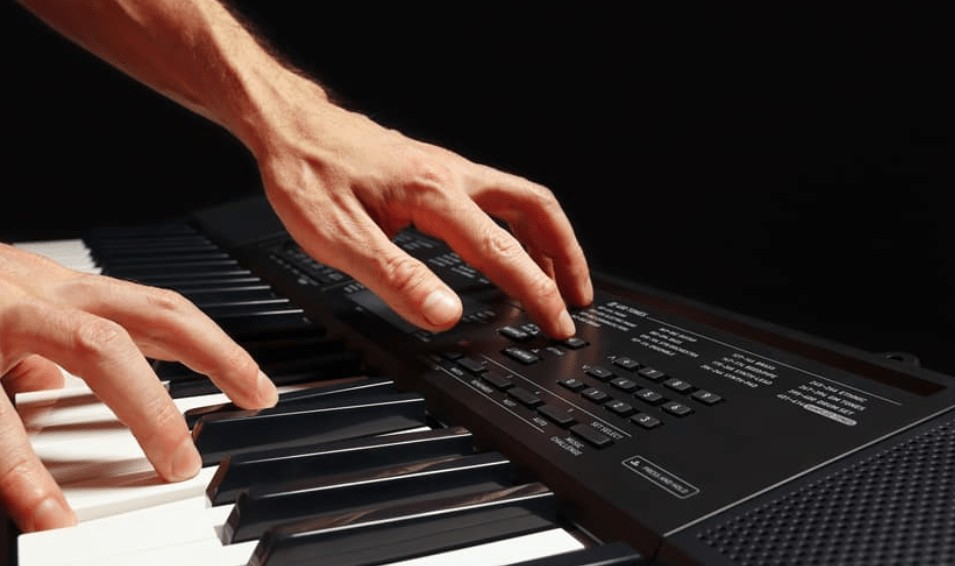 Yamaha keyboard workstation