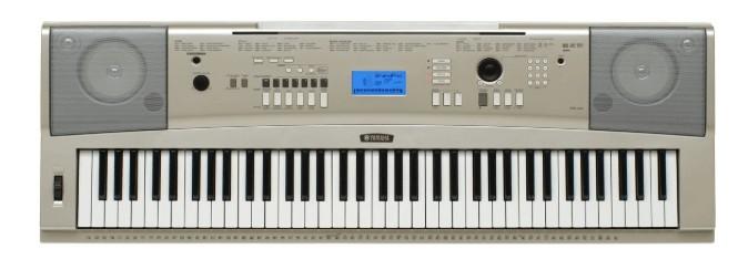 Yamaha touch sensitive keyboard