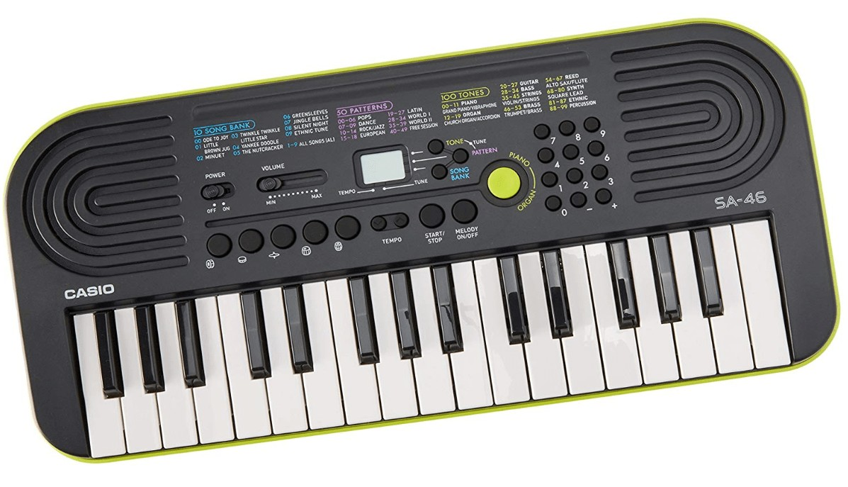 best casio small keyboard for kids