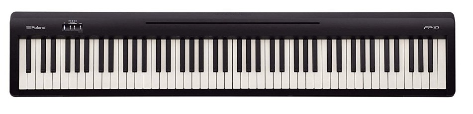 cheap portable digital piano with weighted keys
