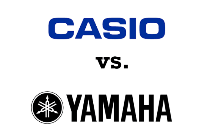 yamaha vs casio digital keyboard