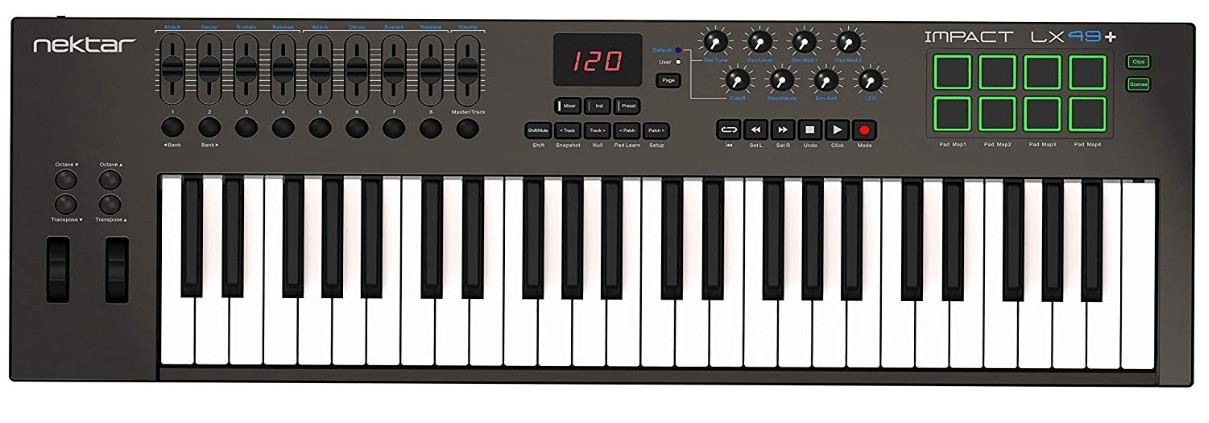best 49 midi controller keyboard under 200