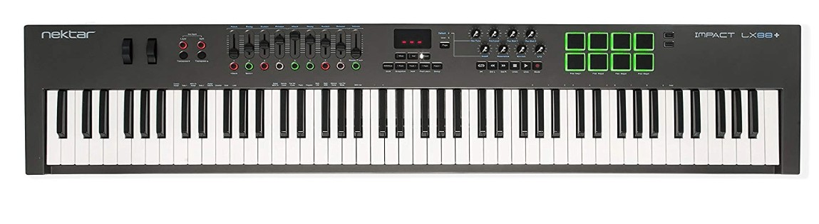 best 88 key controller keyboard for live performance