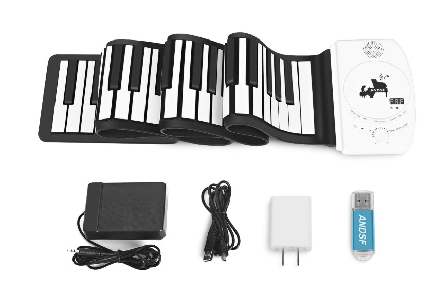 Best Portable 88-key Roll Up Piano with Stereo Speaker