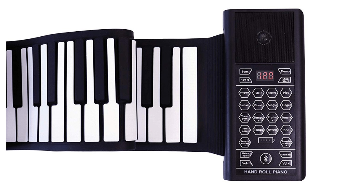 Best Portable Roll Up Piano with 88 keys