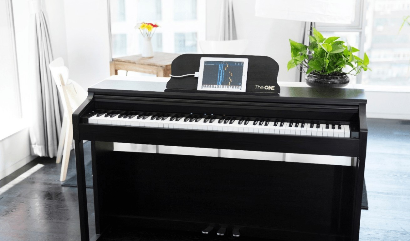 the one upright piano