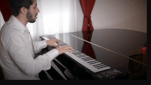 yamaha roll up piano