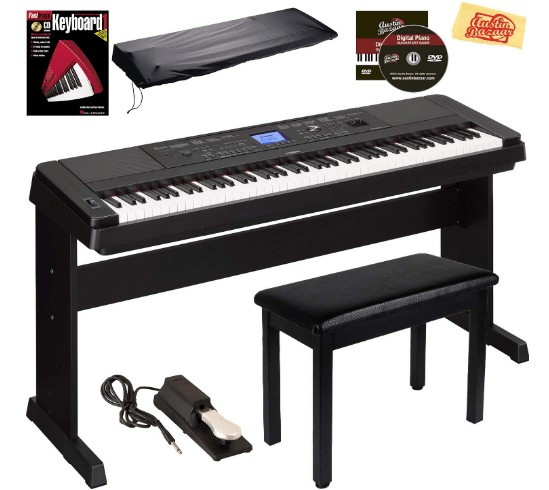 hybrid digital piano