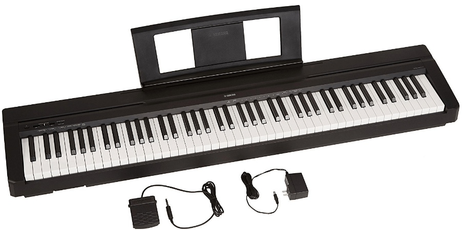 weighted brand keyboard piano