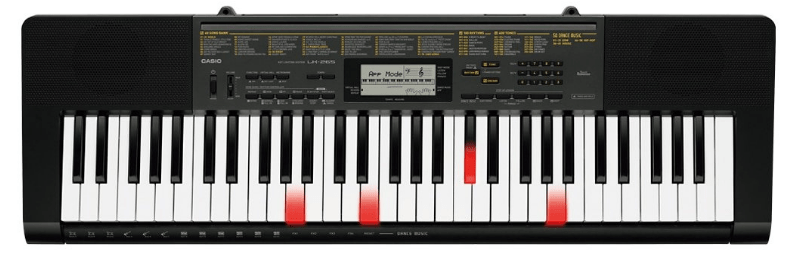 casio touch sensitive keyboard for beginners