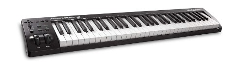 semi weighted 61 key midi controller