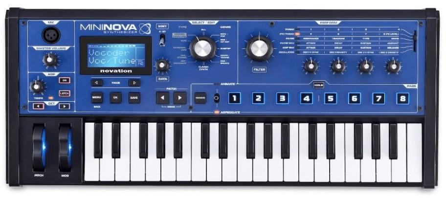 synthesizer keyboard analog modeling