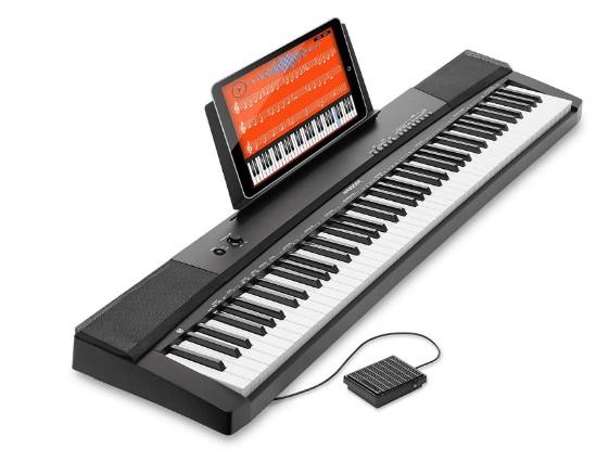 touch sensitive electronic keyboard
