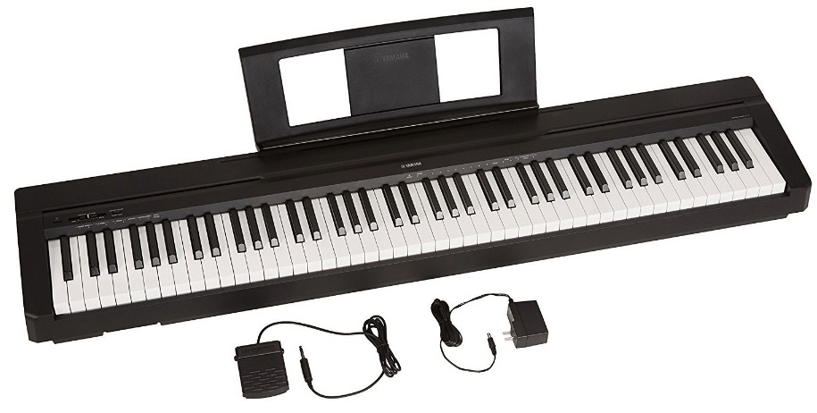 weighted touch sensitive keyboard