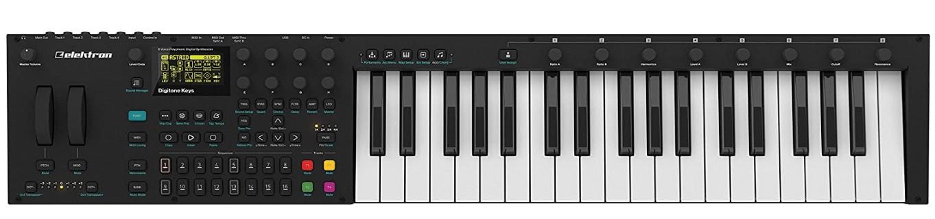 37 key digital synthesizer