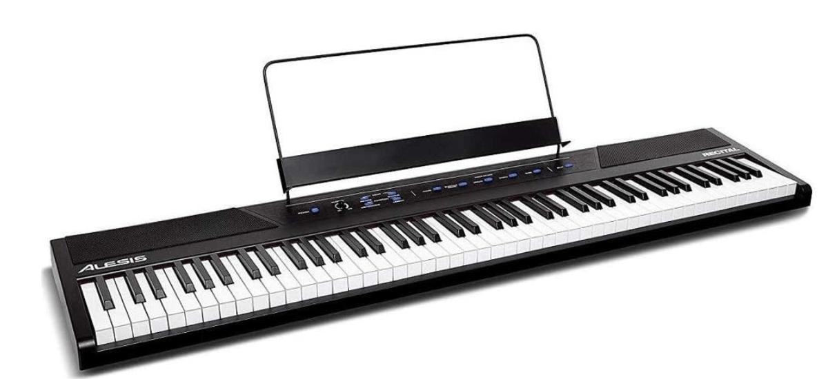 88 key keyboard digital piano