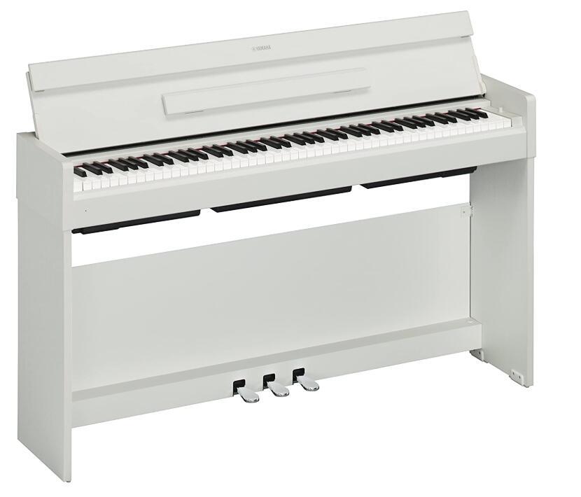 compact yamaha upright digital piano
