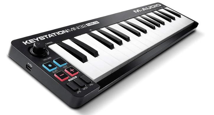 m audio mini midi keyboard usb