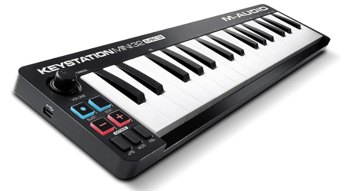 m audio mini midi keyboard usb