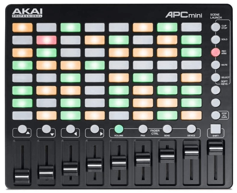 mini midi keyboard controller