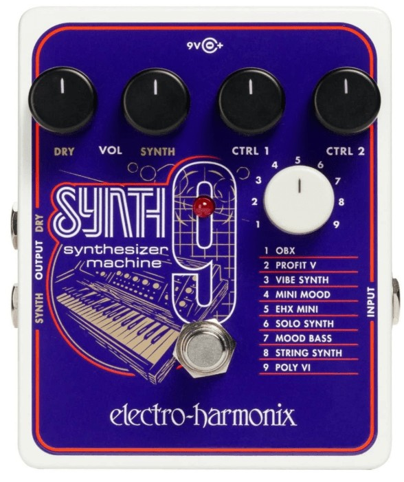synth machine pedal
