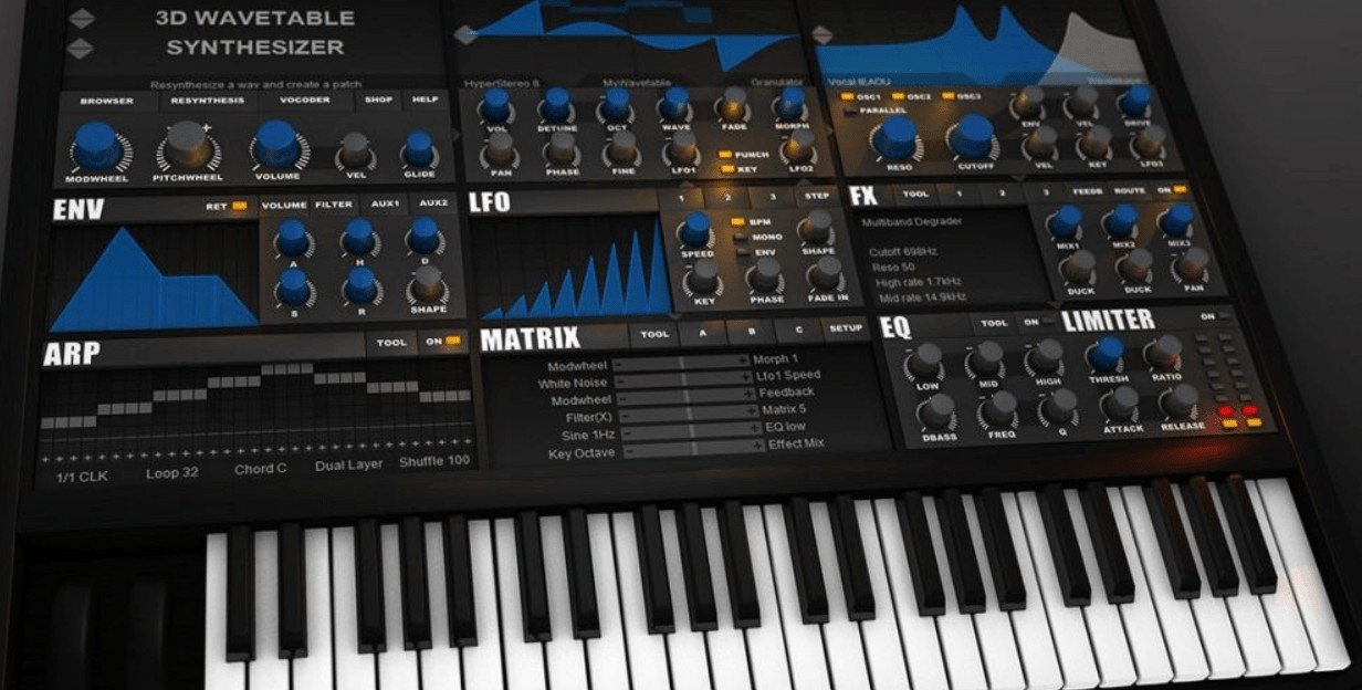 wavetable synth