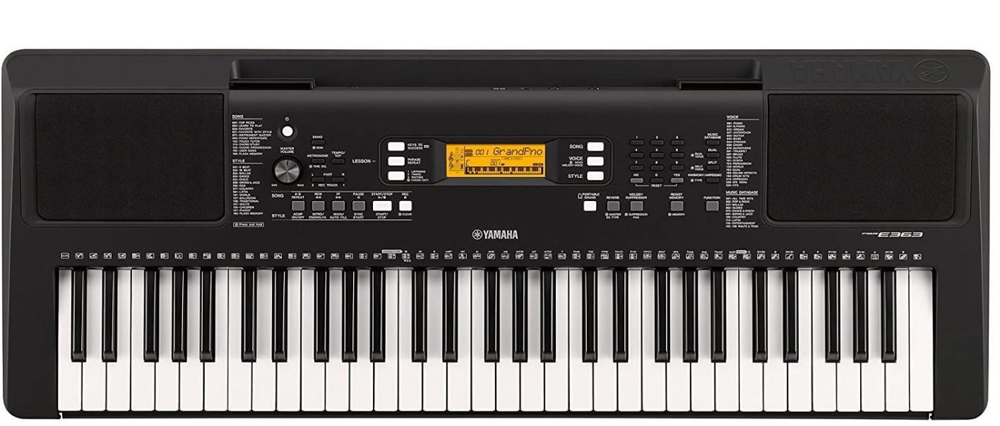 yamaha touch Sensitive keyboard piano