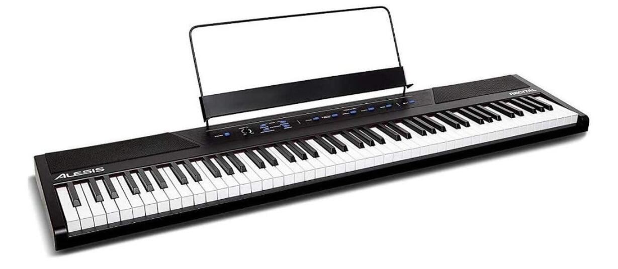 88 key portable weighted digital piano