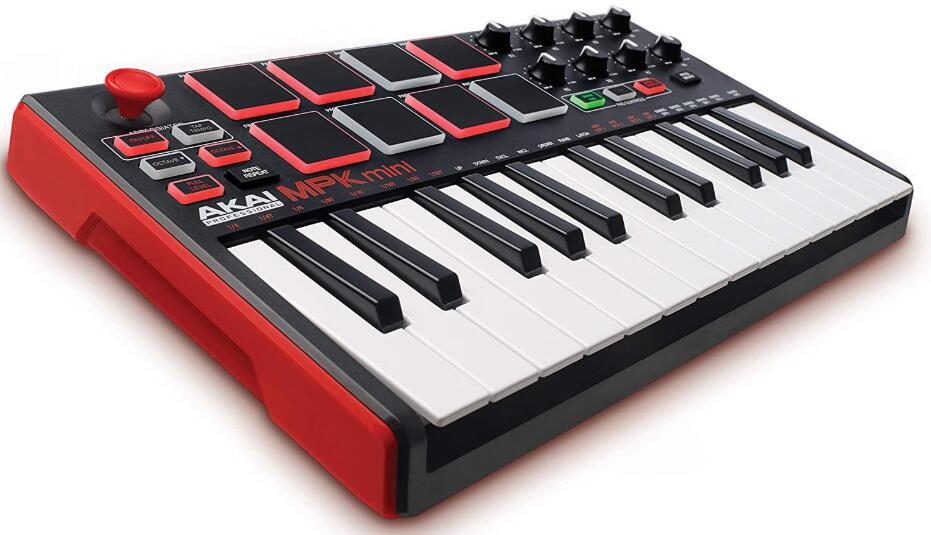 akai professional 25 key usb midi keyboard controller