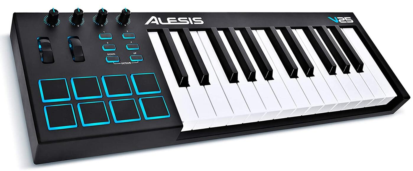 alesis 25 key usb midi keyboard