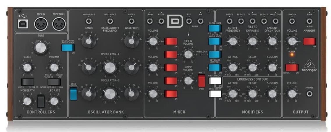behringer synthesizer under 300