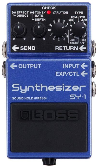 boss bass synth pedal