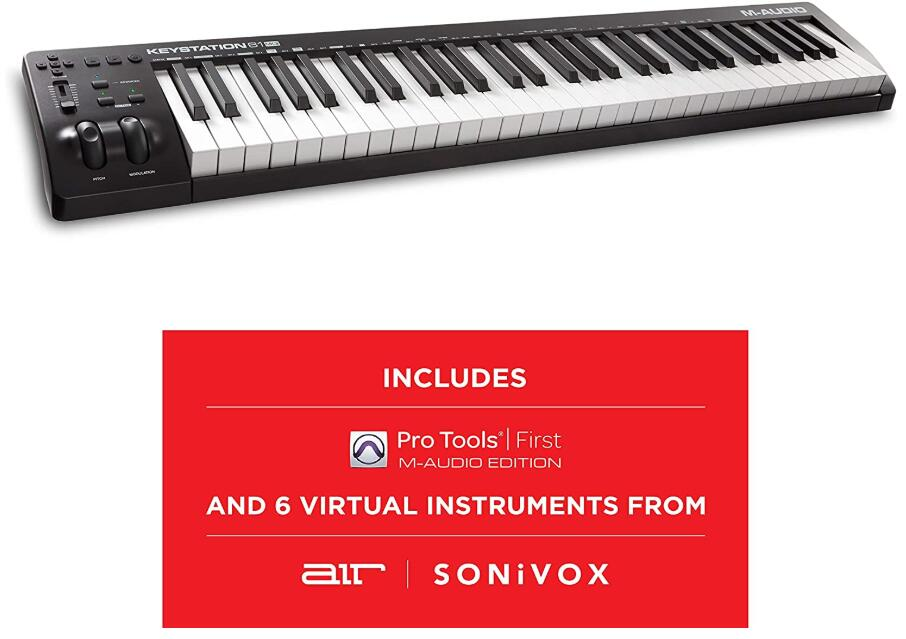 cheap weighted midi controller keyboard
