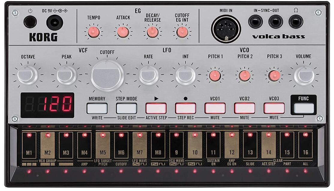 korg anolog bass machine