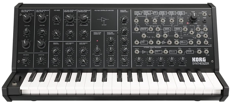 korg ms20 anolog synthesizer