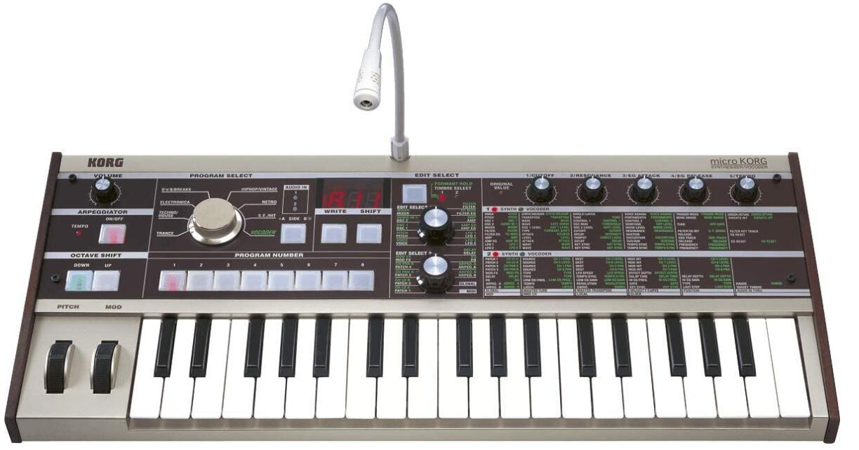 korg portable synthesizer