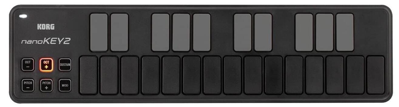korg small 25 key midi controller