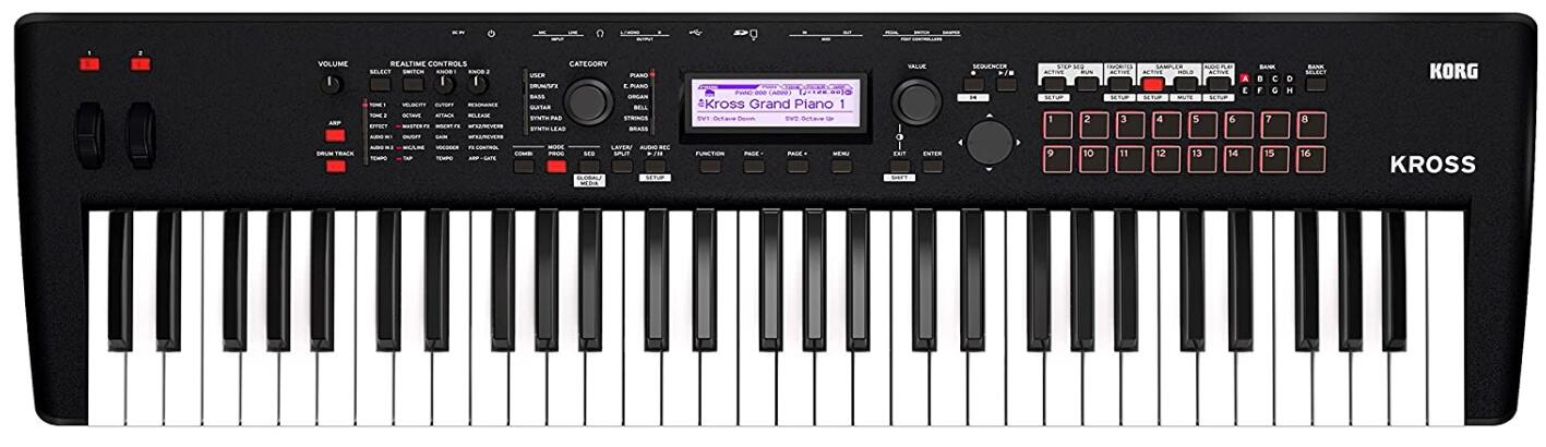 korg synth workstations under 1000