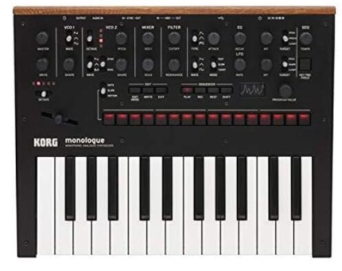 korg synthsizer 25 key beginner