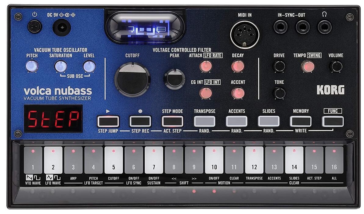 korg vacuum analog synthesizer