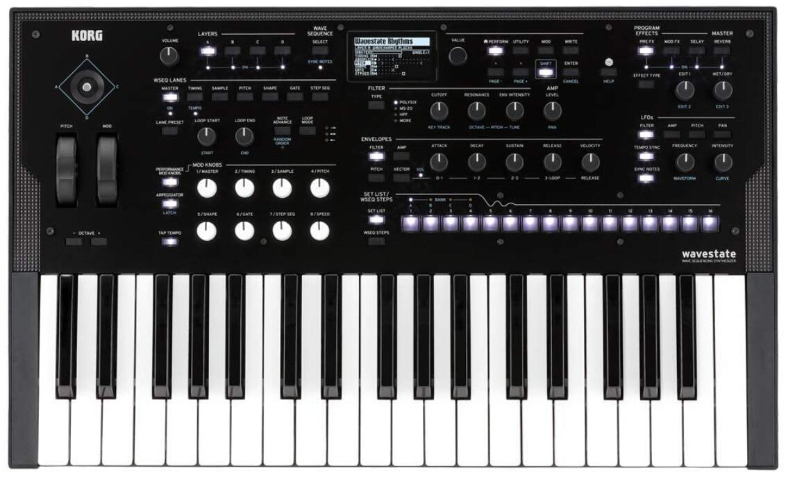 korg wave synthesizer under 1000