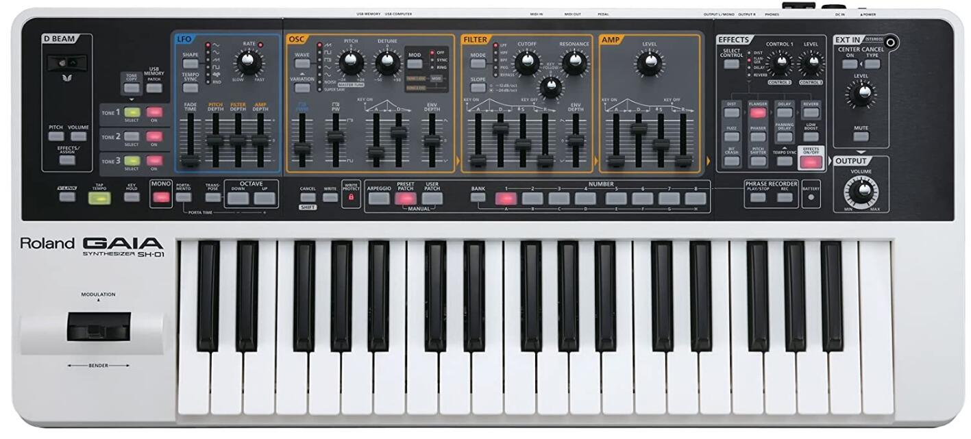 roland 37 key synth