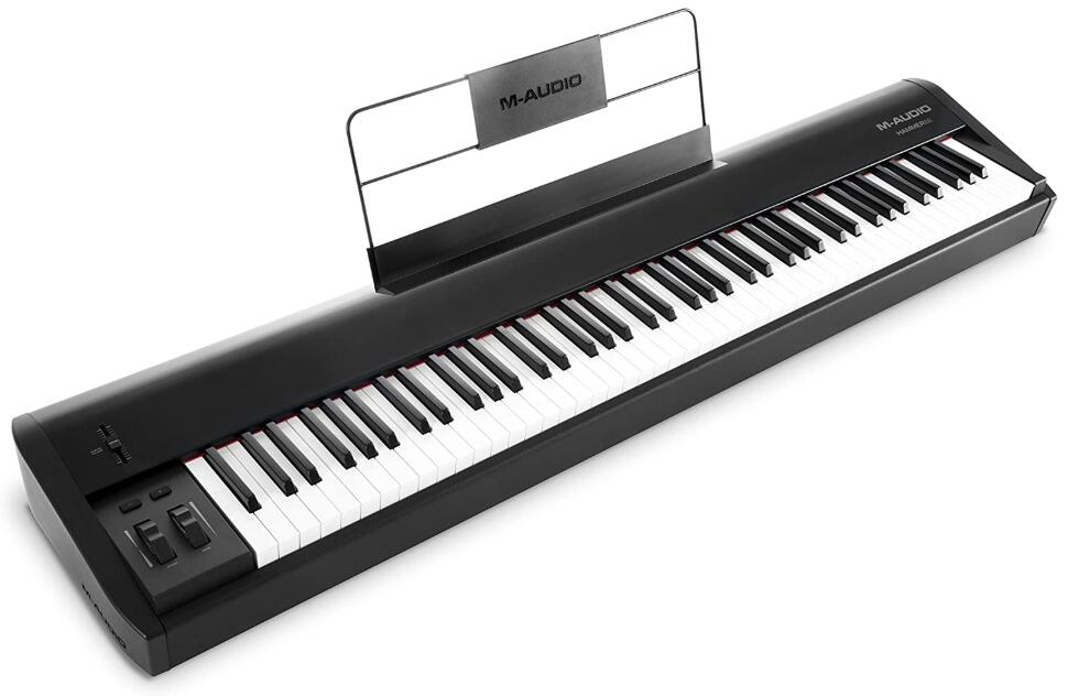 88 key midi controller fully weighted