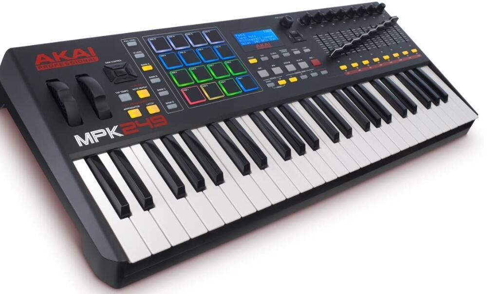 akai 49 key midi keyboard for ableton