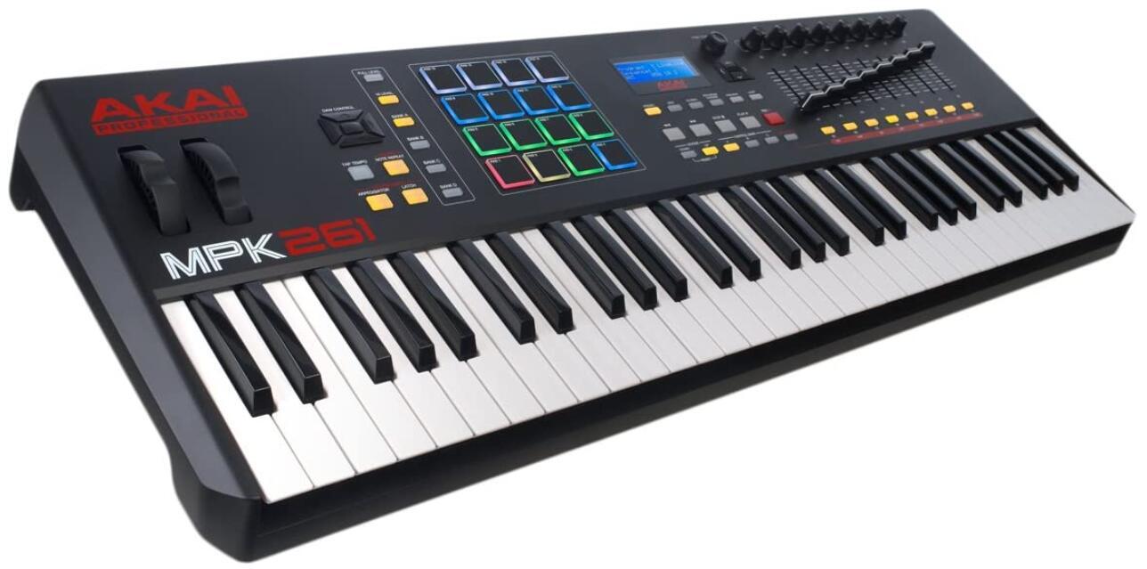 akai mpk weighted portable midi keyboard