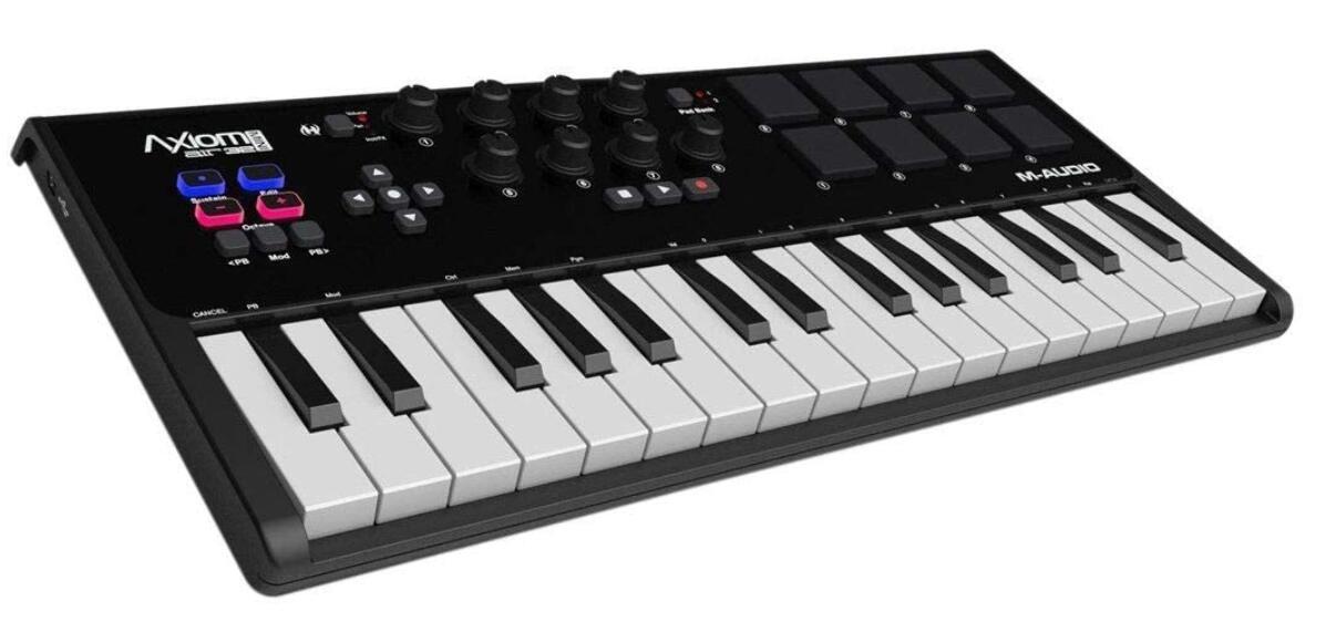 m audio mini midi keyboard