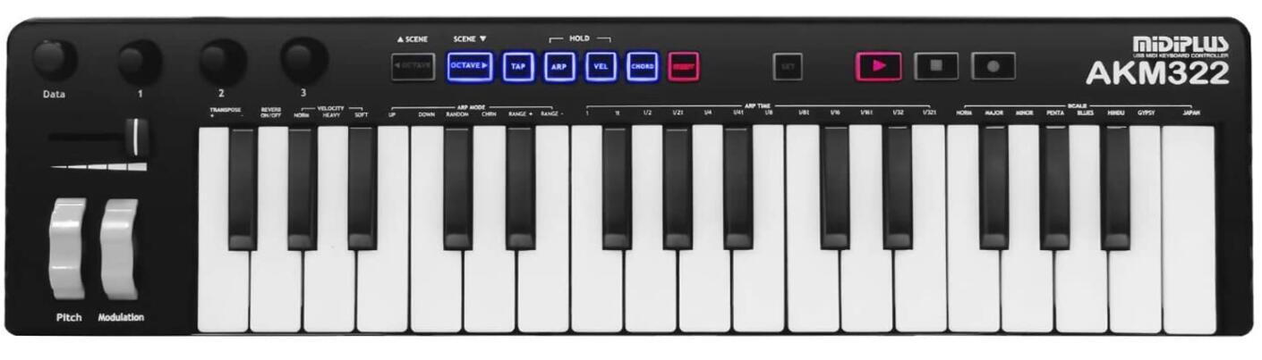 midiplus 32 key midi keyboard