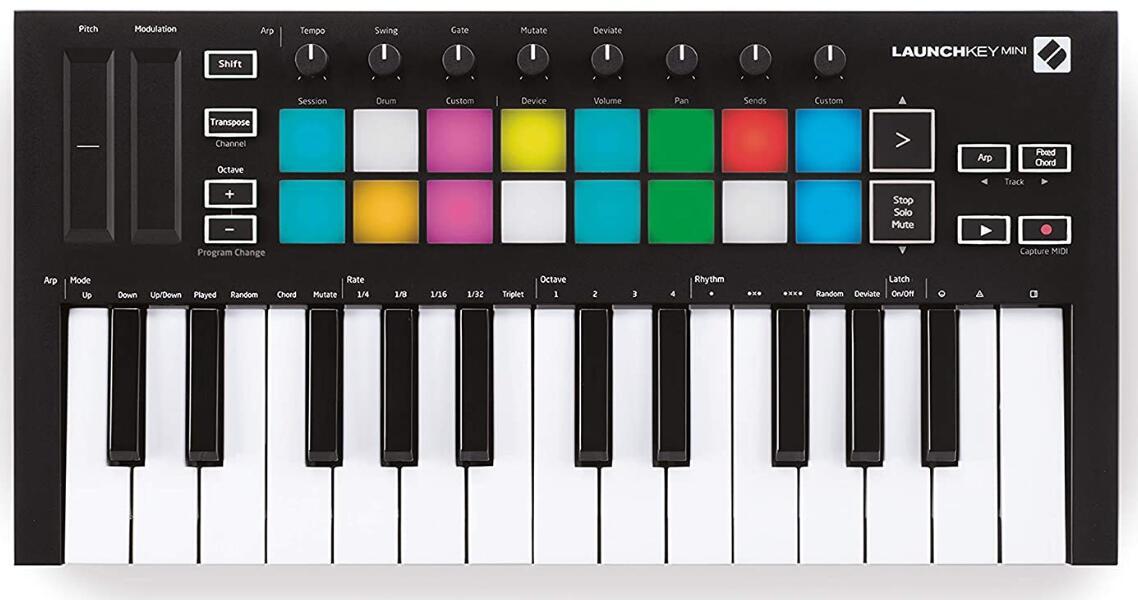 mini midi keyboard